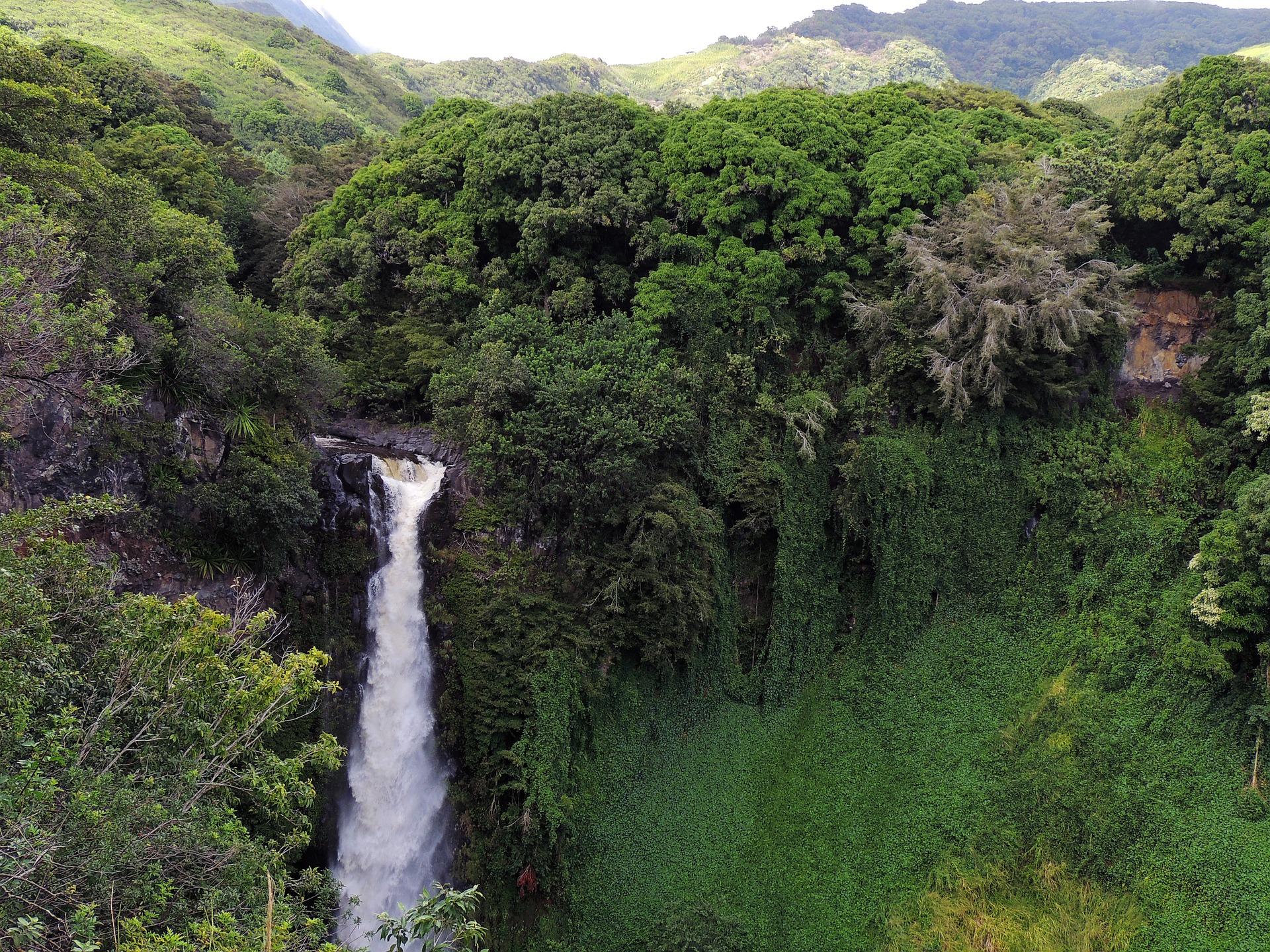 Maui-Jet-Charter-Waterfall